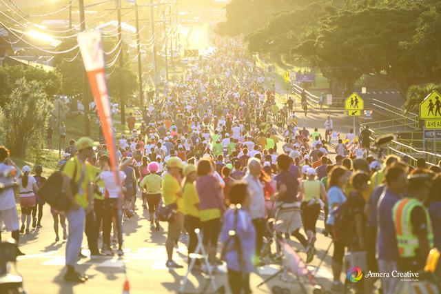 ホノルルマラソン2013 #1