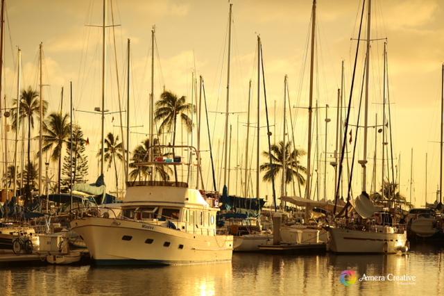 サンセット #14 @ Ala Wai Yacht Harbor