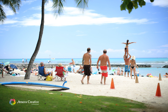 海辺の人々 #15 Waikiki