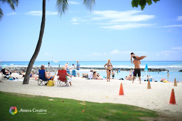 海辺の人々 #16 @ Waikiki