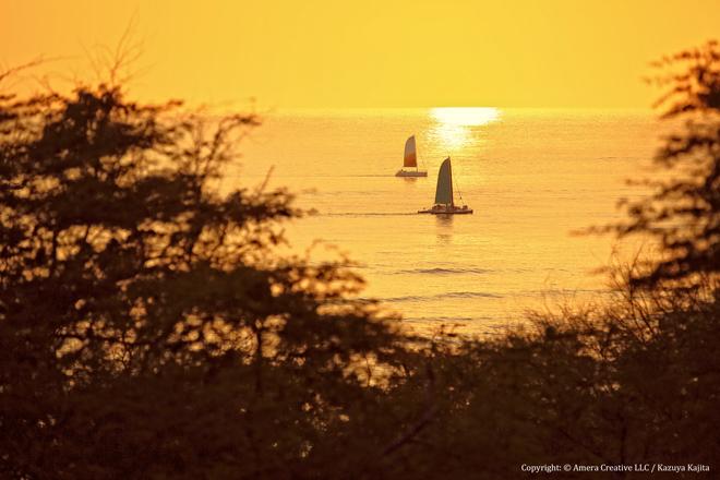 VOGの日の夕陽 #2 @ ダイヤモンドヘッド