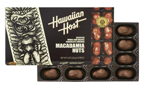 マカデミアナッツチョコレートTIKI8oz