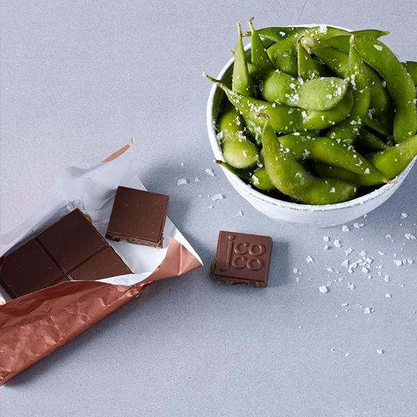 エダマメシーソルトチョコレート